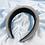 Thumbnail: Grey Princess Padded Headband