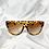 Thumbnail: Tortoiseshell Clear Flat Top Sunglasses
