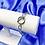 Thumbnail: Silver Chunky Toggle Bracelet