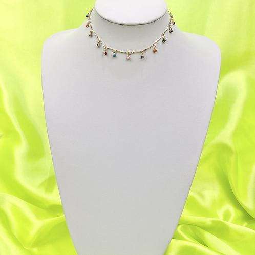 Boho Drop Choker Necklace