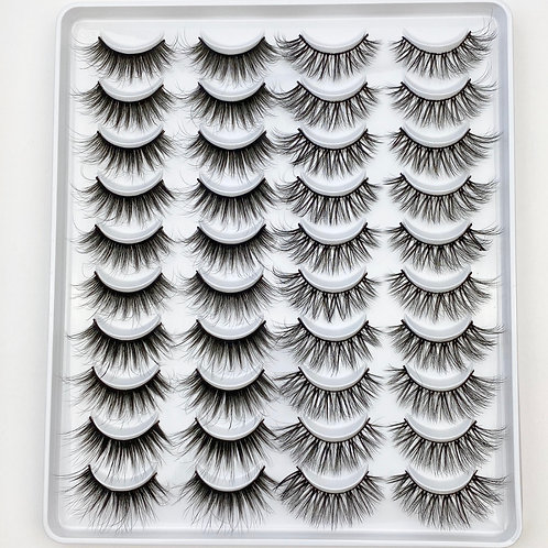 Lash Collection 20 Pairs - Misbehave