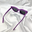 Thumbnail: Purple Round Cat Eye Sunglasses