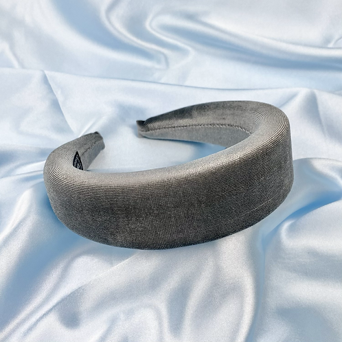 Grey Princess Padded Headband