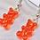 Thumbnail: Red Gummy Bear Earrings