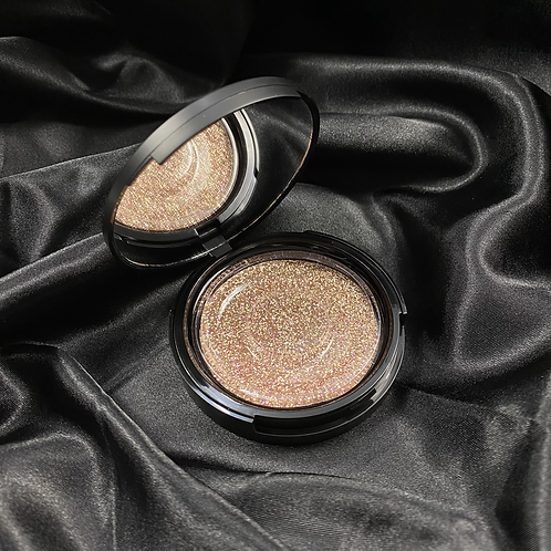 Black Luxury Mirror Eyelash Case