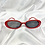 Thumbnail: Red Oval Sunglasses