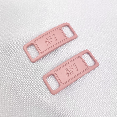 Pastel Pink AF1 Shoe Lace Buckle
