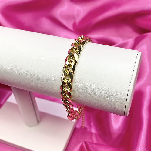 Gold Chunky Chain Anklet