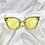 Thumbnail: Yellow Clear Star Square Sunglasses