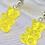 Thumbnail: Yellow Gummy Bear Earrings