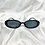 Thumbnail: Black Oval Sunglasses