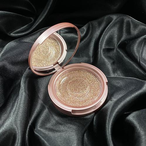 Rose Gold Luxury Mirror Eyelash Case