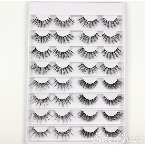 Lash Collection 16 Pairs - Side Chick
