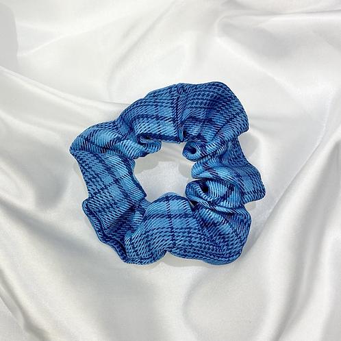 Blue Tarten Scrunchie