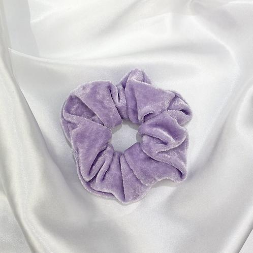 Light Purple Velvet Scrunchie