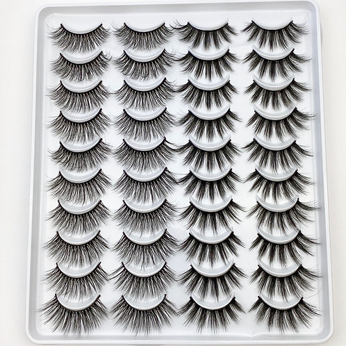 Lash Collection 20 Pairs - Spice Girl