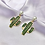 Thumbnail: Pearl Rhinestone Cactus Earrings