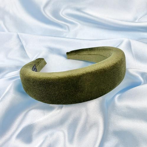 Khaki Princess Padded Headband