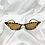 Thumbnail: Tortoiseshell Clear Rectangle Cat Eye Sunglasses