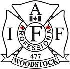 IAF 477 Woodstock Fire Fighters Logo