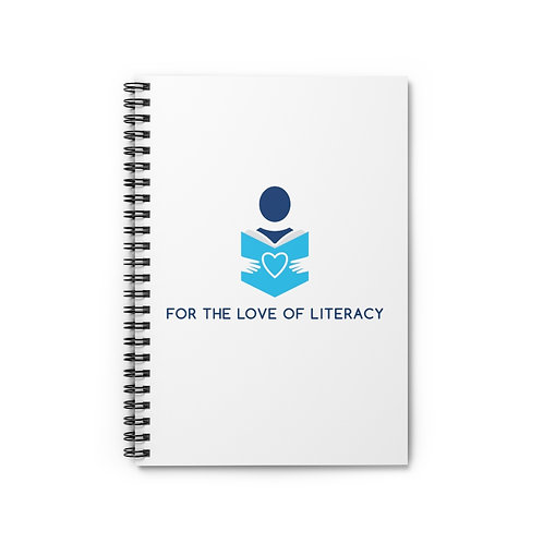 Spiral Notebook for Reading and Writing