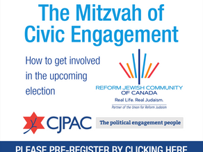 The Mitzvah of Civic Engagement