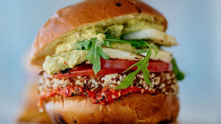 Vegan Burger, vegan, plant-based