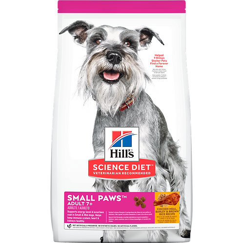 Hill's Science Diet Adult 7+ Small Paws