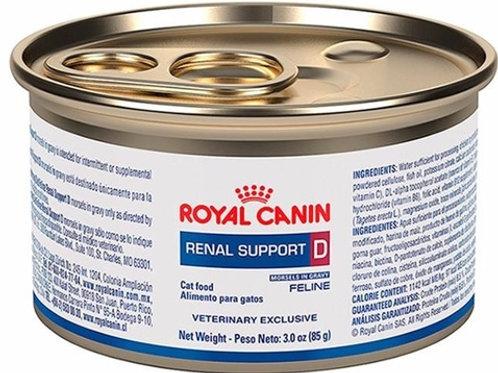 Royal Canin Lata Renal Support D Feline