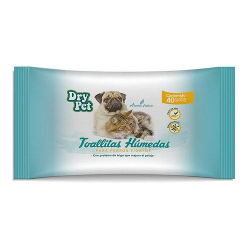 Toallitas húmedas Dry Pet