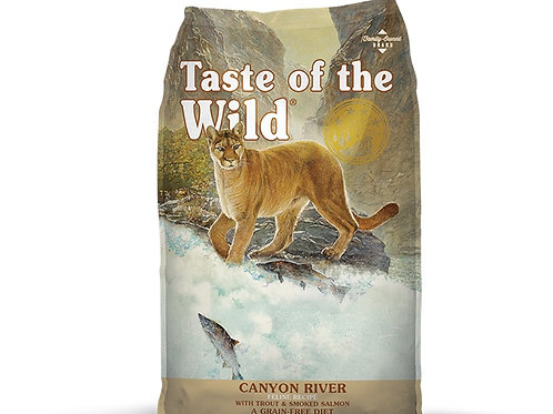 Taste of the Wild Canyon River Feline Trucha y Salmón Ahumado