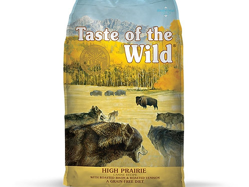 Taste of the Wild High Prairie Canine Bisonte y Venado Asado