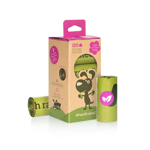 Earth Rated Caja con 8 Rollos Poop Bags