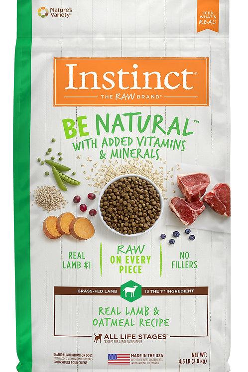Instinct Be Natural Perro Cordero
