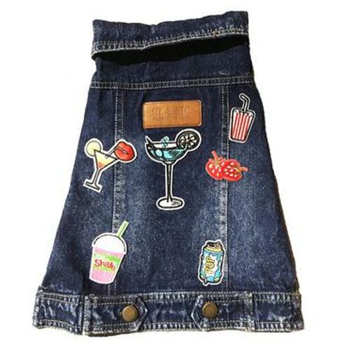 Bad Bone Denim Jacket Martinis