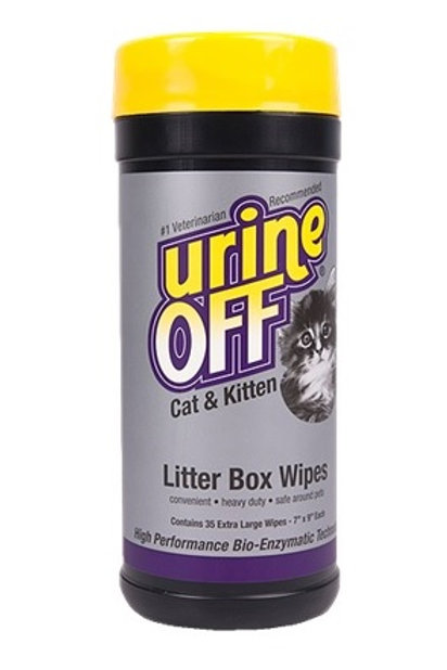 Urine Off Cat & Kitten Wipes