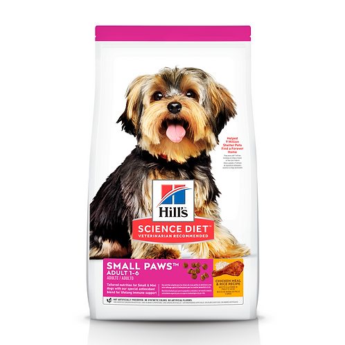 Hill's Science Diet Adult Small Paws