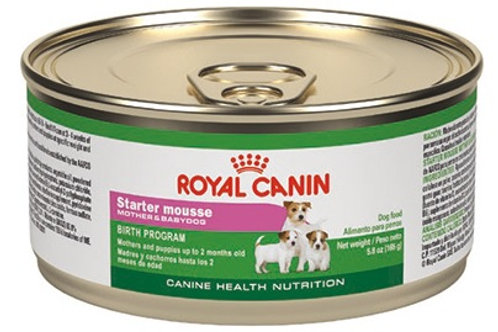 Royal Canin Lata Starter Mousse Canine