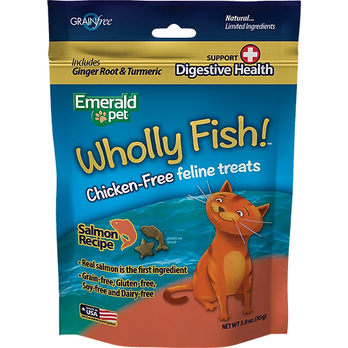 Premios Wholly Fish Digestive Health Salmón