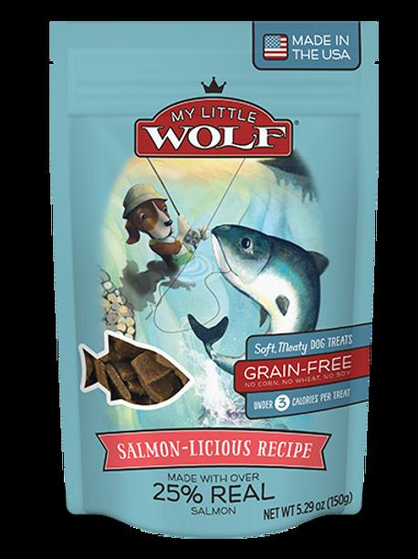 Premios para perro My Little Wolf Salmón