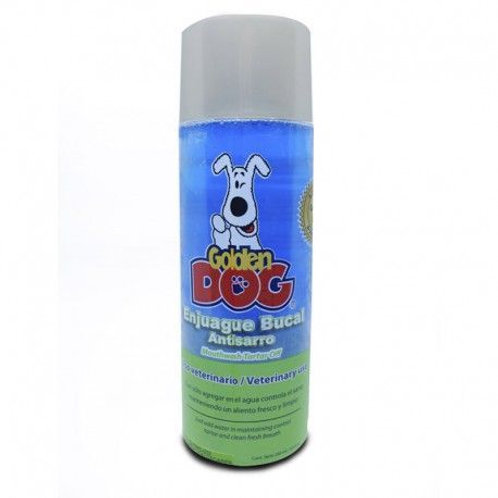 Golden Dog Enjuague Bucal Antisarro