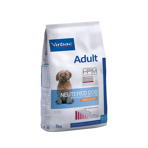 Virbac HPM Adult Neutered Dog Small & Toy