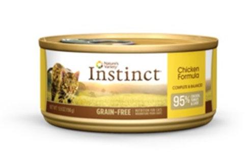 Instinct Lata Gato Pollo