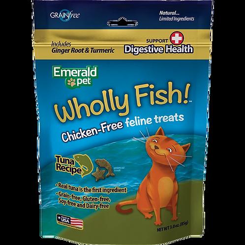 Premios Wholly Fish Digestive Health Atún