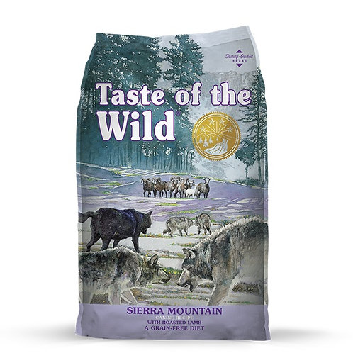 Taste of the Wild Sierra Mountain Canine Cordero Asado