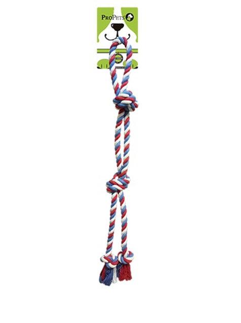 ProPets Corbata de algodón tricolor