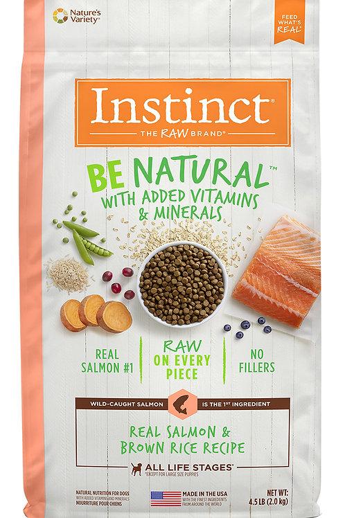 Instinct Be Natural Perro Salmón