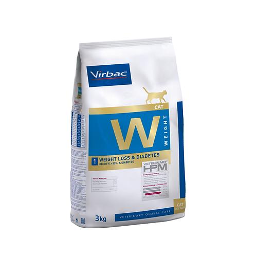 Virbac HMP WEIGHT 1 - Control del peso corporal y diabetes gato