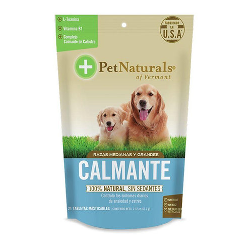 Pet Naturals Calmantes Para Perros Medianos y Grandes