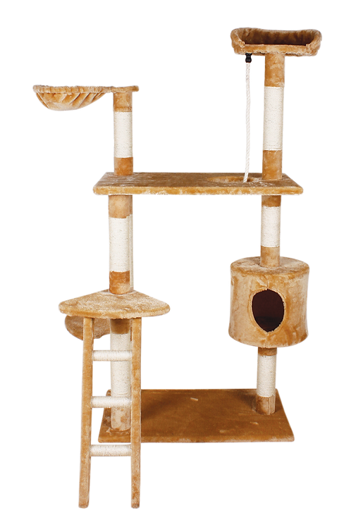 Fancy Pets Mueble con Casa y Escalera 158 cm